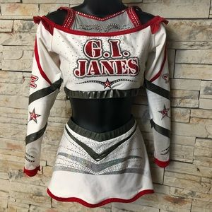 GI Janes Varsity All Star Cheerleading Uniform AM